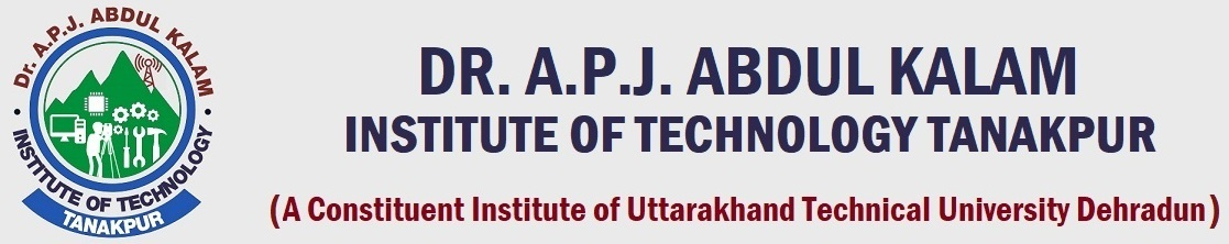 Dr. A.P.J Abdul Kalam Institute of Technology, Tanakpur