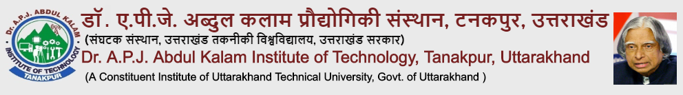 Dr. APJ Abdul Kalam Institute of Technology, Tanakpur